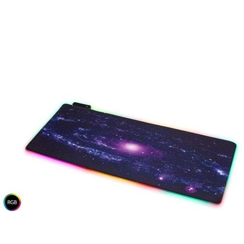 HADRON HDX3527 OYUN MOUSE PAD RGB LEDLİ 300*700*3MM